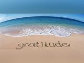 Beach and Ocean Blue - Grattitude