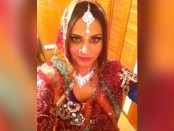 South Asian woman with Sari