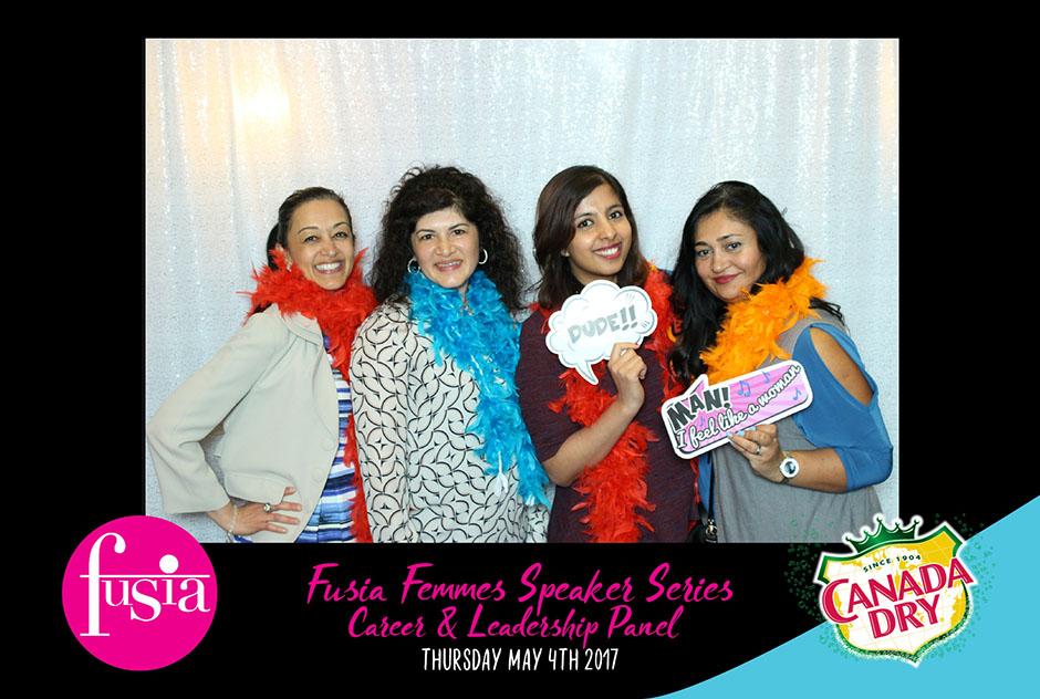 Fusia Magazine & Canada Dry - Photobooth