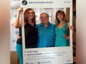 Yellow & Teal Fundraiser